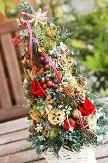 ツキイチリースの作品ご紹介♪|Chances News ミニクリスマスツリー