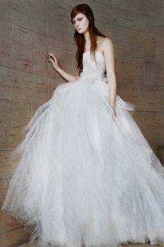 Browse the Vera Wang 2015 #wedding dress collection here: http://www.weddingandweddingflowers.co.uk/article/1033/vera-wang-2015-bridal-collection
