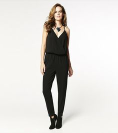 Romp around in this sexy cross over romper! Perfect for cocktails! Pair it with one of our belts to finish up the look. #DYNHOLIDAY