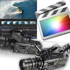 Products for video editors and videographers: Plugins, stock footage, color… Final Cut Pro, Photography Software, Photography Classes, Video Editing Studio, Iphone Photo Editor App, Lights Camera Action, Film School, Video Film, Computer