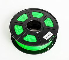 SUNLU 3D Printer Filament PLA , No Bubbles, No Need to Heat, Dimensional Accuracy  /- 0.02 mm, 1 kg Spool, 1.75 mm, Noctilucent Green * Continue to the product at the image link.