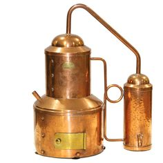 French Made Copper Still Salesman Size