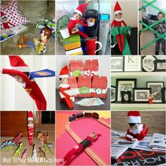 Elf on the Shelf for the Busy Parent - Wait Til Your Father Gets Home