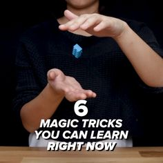 6 Magic Tricks You Can Learn Right Now // #magic #magictricks #party #talent #Nifty mágica