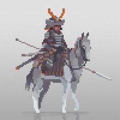by Victor Calleja Pixel Art Gif, How To Pixel Art, Cool Pixel Art, Anime Pixel Art, Pixel Art Games, Cool Art, Piskel Art, Pix Art, Game Character Design