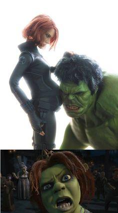 If Black Widow And Hulk Had A Baby