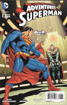 Tears Of Krypton __Written by Marc Guggenheim, Art by Joe Bennett and Belardino Brabo, Cover by Joe Bennett and Belardino Brabo , Dr. Emil Hamilton seeks out Superman with some shocking news - not onl