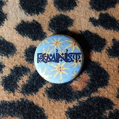 Feminist Suns Pinback Button or Magnet by jaxxisbuttons on Etsy