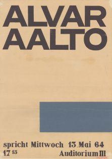 Alvar Aalto spricht 13.5.1964.