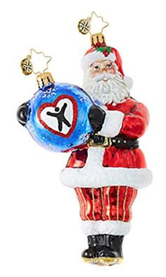 Christopher Radko Dave Thomas Adopting Darling Charity Awareness Glass Ornament Product Features Christopher Radko Ornament Dave Thomas Adopting Darling Adoption Charity Awareness Approximately 6 Inches Shipped with Official Radko Gift Box Dave Thomas, Christopher Radko Ornaments, Glass Christmas Ornaments, How To Make Ornaments, Beautiful Christmas, Decor Crafts, Charity, Adoption, Holiday