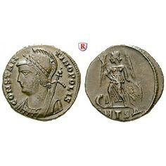 Römische Kaiserzeit, Constantinus I., Follis 336-337, vz: Constantinus I. 307-337. AE-Follis 18 mm 336-337… #coins #numismatics