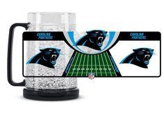 Carolina Panthers Crystal Freezer Mug
