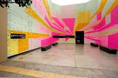 One Stop-Motion Animation, 350,000 Post-it Notes - DesignTAXI.com