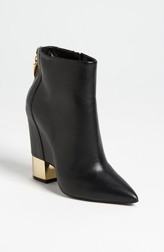 Giuseppe Zanotti Zip Bootie | FW2013 | Pointed Toes and Boxy Heels