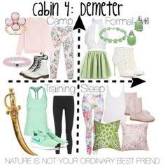 Cabin 4: Demeter