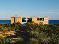 a lovely Long Island beach home nestled between the dunes