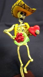 romantic skeleton mariachi