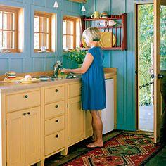12 Beach House Kitchens | Savvy Details | CoastalLiving.com