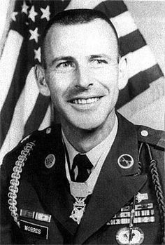 With enemy activity noted in their area, a squad from A Company, 2/503, 173d Airborne, is deployed in reconnaissance.      Quote:  Medal of Honor    MORRIS, CHARLES B.     Rank and organization: Staff Sergeant (then Sgt.), U.S. Army, Company A, 2d Battalion (Airborne), 503d Infantry, 173d Airborne Brigade (Separate)    Place and date: Republic of Vietnam, 29 June 1966     Entered service at: Roanoke, Virginia     Born: 29 December 1931, Carroll County, Virginia