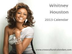 2013 Whitney Houston Calendar