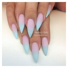 Stiletto Nails ❤ liked on Polyvore featuring beauty products, nail care, nail treatments, nails and makeup