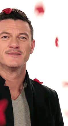 Literally Just Luke Evans GIFs