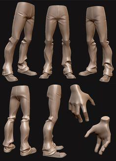 3d legs