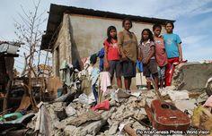 Desastres naturales causaron más de 22 millones de desplazados en 2013
