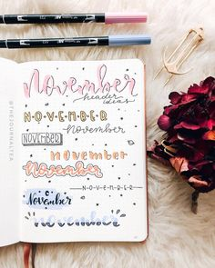 November... the last month of autumn, but the beginning of a new adventure; time to take risks and do the unexpected. Have you finished your November spread yet? Well, I haven't even decided what theme to use yet 🤣 Here is a collection of November headers! Wish you can find something here 😘💕 . Double tap if you love journaling! 😍 Use #thepalepaper on your post and follow us to be featured! ✍ . 📷: @thejournaltea