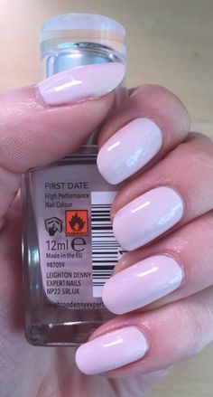Leighton denny nail polish, first date