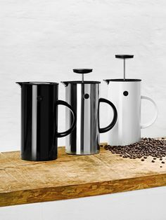Presso Pot, Stelton. Design by Erik Magnussen.