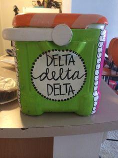 Tri Delta // Cooler