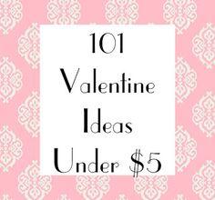 Mud Pie Studio: 101 Valentine Ideas for under $5