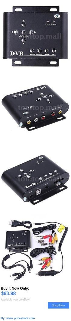 electronics: 2Ch Car Security Mini Dvr Sd Video/Audio Cctv Recorder And Car Charger Dc 12V S1w3 BUY IT NOW ONLY: $63.98 #priceabateelectronics OR #priceabate