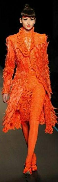 Orange Gown, Coral Orange, Oranges And Lemons, Orange Crush, Marmalade, Bright, How To Wear, Orange, Shades