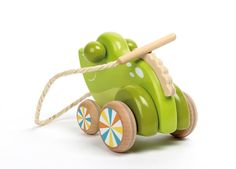 FRANKLIN  Wooden Frog from SOULET Jouets