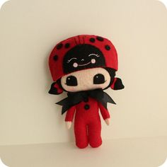 PeekaBoo Lady Bug pdf Pattern  Instant Download by Gingermelon, $7.50