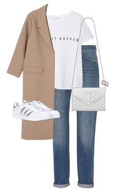 Kpop Fashion Outfits, Winter Fashion Outfits, Fall Outfits, Ootd Fashion, Style Fashion, Cute Casual Outfits, Stylish Outfits, Simple Outfits, Mode Ootd