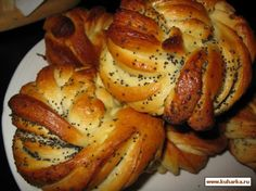 Булочки плюшки, Russia Russian Recipes, Pastries, Sausage, Rolls, Potatoes, Bread, Drink, Baking, Vegetables