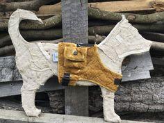 Hund: Geschirr - Soft-Geschirr Midi Duo, Größe XS, mit Täschchen - ein Designerstück von AndreasHundikate bei DaWanda