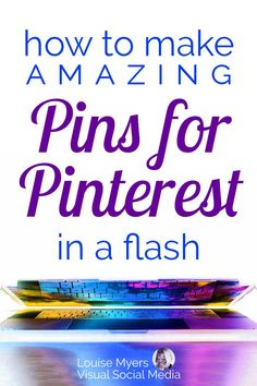 Pinterest marketing tips: Learn how to make amazing click-worthy Pins in minutes! Read the blog to learn EASY tips and tricks for small businesses, entrepreneurs, and bloggers from a pro graphic designer with over a million repins. #pinterestmarketing #graphicdesign #socialmediamarketing Email Marketing Strategy, Social Media Marketing, Business Marketing, Business Tips, Digital Marketing, Graphic Design Tips, Tool Design, Twitter Tips, Pinterest For Business