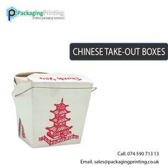 Custom Chinese take-out with your own Selected Card Stock Corrugated Boxes, Kraft Boxes, Cardboard Boxes
