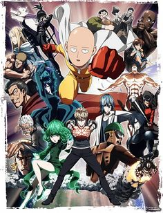 MADHOUSE, One Punch Man, Onsoku no Sonic, Mumen Rider, Saitama (One Punch Man), Banken Man (One Punch Man), Anime #anime #onepunchman | zerochan.net | www.evilentertainment.ca