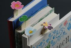 What fun spring bookmarks!「HOTEL BUTTERFLY」 ホテルバタフライ ブックマーカー(花)