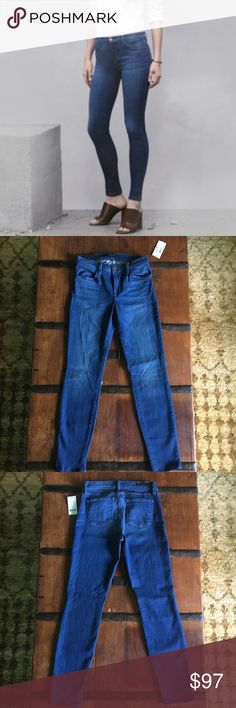 """J Brand 620 Mid-Rise Super Skinny Enigma Size 27 New.  J Brand 620 Mid-Rise Super Skinny in Enigma.  Selling now on J Brand for $218.  Perfect weight and a vibrant medium-blue wash that's perfect for summer into fall!  Soft and comfortable, I'm a jean junkie and these are one of my favorites.  You can size down from your regular J Brand size.  Inseam:  30""""  Rise:  9""""  Leg opening:  9.75""""  Waist:  13.25""""  -93% cotton, 5% polyester, 2% lycra.  Questions welcome!  No trades.  Please look at my…"""