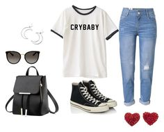 """Untitled #199"" by nevaeh678 on Polyvore featuring WithChic, Converse, Gucci and Ana Accessories"