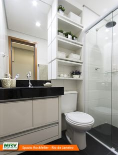 Tips to decorate your bathroom elegantly - My Romodel Bathroom Design Luxury, Bathroom Design Small, Bathroom Layout, Glamour Decor, Small Toilet, Bathroom Organisation, Beautiful Bathrooms, Bathroom Furniture, Sweet Home