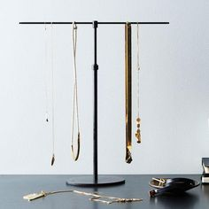 A hanging home for your jewelry. #Food52
