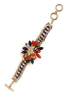 sparkly bracelet from @Matt Nickles Valk Chuah Coveteur x @BaubleBar collection #wishlist