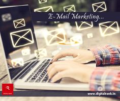 #EmailMarketing is a great way to reach your customers where they are without spending a lot of money. Email Marketing Solution for #SmallBusinesses. www.digitalrank.in